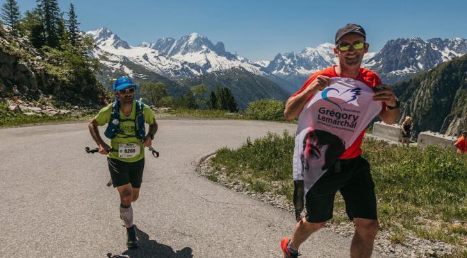 Marathon du Mont-Blanc: Super effort par Laurent et David!