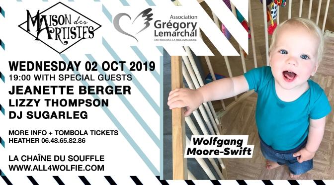 MAISON DES ARTISTES 02 Oct 2019! Avec Jeanette Berger!